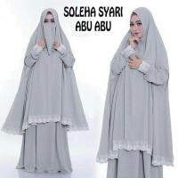 Dress Wanita // Baju Gamis // Soleha Syari