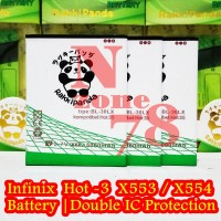 Baterai Infinix Hot 3 Lite X554 Hot 3 Max X553 Double IC Protetection