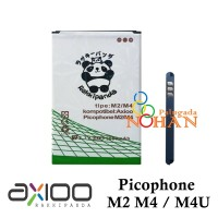 Baterai Axioo Picophone M4U M2 M4 Double IC Protection