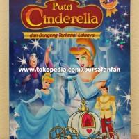 Buku Dongeng Anak Tebal Kisah Putri Cinderella
