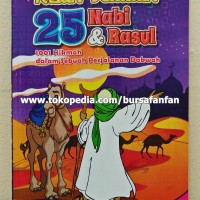Buku Dongeng Anak Tebal Kisah Teladan 25 Nabi Dan Rasul
