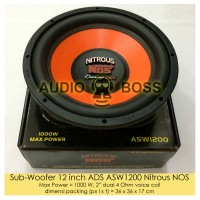 Speaker Subwoofer 12 inch ADS ASW1200 Nitrous NOS 12