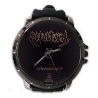 Jam Tangan Custom Cover CD SEPULTURA - SCHIZOPHRENIA Premium