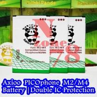 Baterai Axioo Picophone M4U M4U+ M2 M4 Double IC Protection
