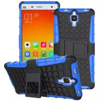 Xiaomi Mi 4 Mi4 Hard Soft Case Casing Cover HP Rugged Armor Kick Stand