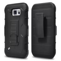 Casing Original Future Armor Samsung S6 Active W/ Holster Case Premium
