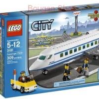 Lego City 3181 Passenger Plane - ORI