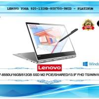 LENOVO YOGA 920-13IKB-80Y700-9QID I7-16GB-SSD 512GB PLATINUM