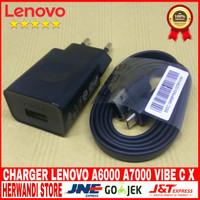 Charger Lenovo C-p53 A6000 Vibe C X x2 S1 Original 100 5v-1.5A