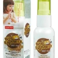 Obat Anti Nyamuk Bite Fighters Organic Mosquito Repellent Spray 25ml