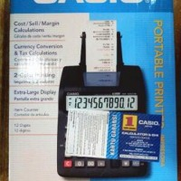 Harga paket 10roll kertas dan tinta kalkulator mesin kasir casio hr 100 | Pembandingharga.com