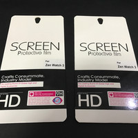 Asus Zenwatch 3 WI503Q Smartwatch Screen Protector Film (isi 2pcs)