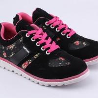 Sepatu Wanita Slip On Sneakers Kets Keren Branded - Cantiku HM 015