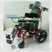 Kursi roda CP+ Tidur + Tempat Makan Cerebral palsy / Cacat Otak Avico