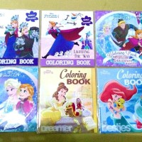 Coloring Book Disney Frozen Adinata SMALL . Buku Mewarnai Elsa Anna