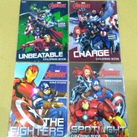 Coloring Book Avengers LARGE . Buku Mewarnai Adinata Marvel