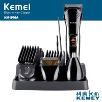 KEMEI KM-590A 7 In 1 Electric Grooming Beard Hair Cutting Nose Trimmer