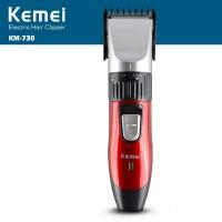 KEMEI KM-730 Rechargeable Wireless Hair Clipper Professional