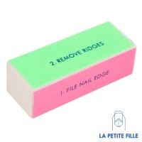 Nail Art: Tools - 4-Way Nail Buffer Block