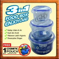 FOOD BOX Container 3in1