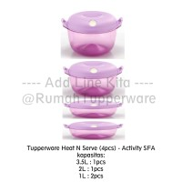 Tupperware Heat N Serve (4pcs) - Activity SFA