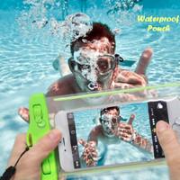Waterproof Pouch GLOW IN THE DARK (Pouch anti air untuk tempat hp)
