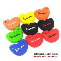 Silicone Remote Cover Kondom Kunci Keyshirt Piaggio Vespa Matic Trendy