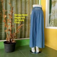 Celana Kulot Jeans Wanita - Celana Jeans - Celana Panjang