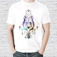 Baju Kaos Premium Original Distro Keren Pria Wanita Ethnic Wolf