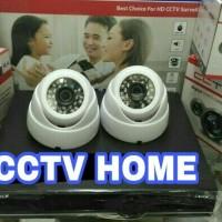 oaket cctv 4 channel 2 kamera indoor siap pakai