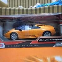 Lamborghini Murcielago Roadster skala 1/24 Motormax Diecast Motor Max