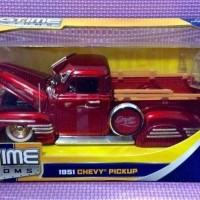 "51' Chevy Pickup ""Street Low"" (Red) Jada Bigtime Kustoms skala 1/24"