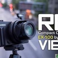 CASIO EX 100 NEW & ORI KAMERA CASIO