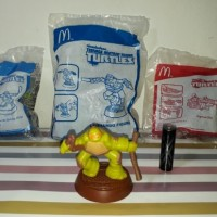 Teenage Mutant Ninja Turtles Kura Kura Happy Meal Mcdonald Mcd Toys