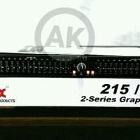 Equaliser Equalizer DBX 215 eq 2 x 15 band stereo