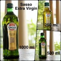 minyak zaitun sasso extra virgi oil 1 ltr