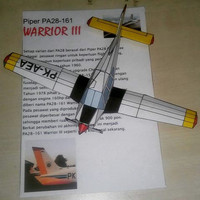 Papercraft PA-28-161 Warrior III STPI Curug