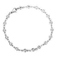 gelang kaki anak dewasa stainless titanium love kado hadiah valentine