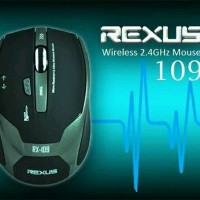 MOUSE GAMING WIRELESS REXUS 109