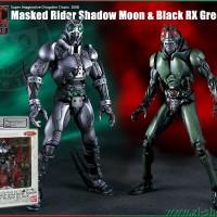 SIC SHADOW MOON and MASKED RIDER BLACK