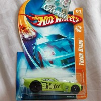Hot Wheels Nitro Doorslammer Track Star Green Hotwheels HW hijau Balap