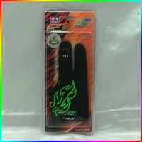 sarung jari tangan yoyo auldey blazing teens glove green hijau 676933