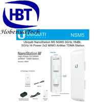 UBIQUITY NanoStation M5 (150Mbps+16dBi) NSM5 5GHz airMax CPE UBNT