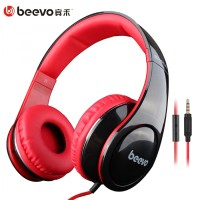 Beevo HiFi Super Bass Headphone & Mic / Headset Gaming PC Laptop HP