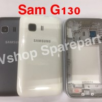 Casing Fullset Housing Samsung Galaxy Young 2 G130 G130H Black White
