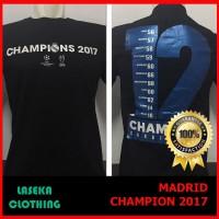 kaos baju Distro REAL MADRID JUARA LIGA CHAMPION 2017 CARDIF 12
