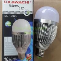Lampu Led Metaled 10w Full Aluminium Kawachi - Hemat Te Diskon