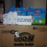 [24 PCS] GOON Smile Baby L 24 Pants Diaper Diapers Celana Termurah