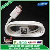 Kabel Data USB Samsung S7 S7 EDGE S7 Flat ORIGINAL 100% Fast Charging