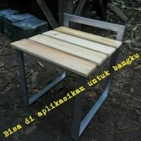 Kayu jati belanda / pinus untuk wallpapper / rak / bangku / DIY